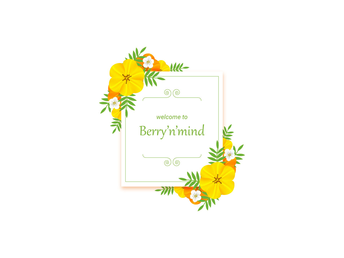Welcome to Berry'n'mind
